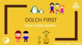 10 x Weekly Dolch First PowerPoints - Sight Words+Meanings