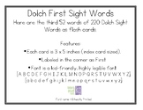 Dolch First Sight Words