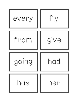 Dolch Flashcards Grade 1 Words