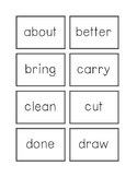 Dolch Flashcards Grade 3 Words
