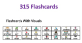 Dolch Flashcards With Visuals Bundle