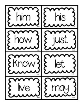 Dolch Grade 1 Flashcards