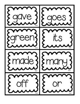 Dolch Grade 2 Flashcards