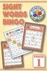 Dolch Grade 1 Sight Words Bingo BUNDLE: Digital & Print - EASY Phonics Games