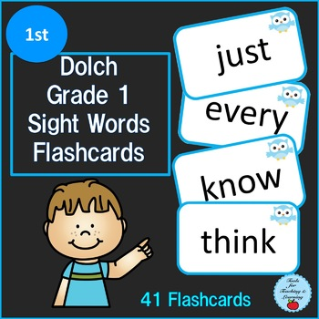 Dolch Grade 1 Sight Words Flashcards