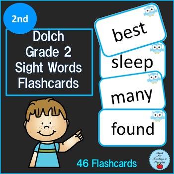 Dolch Grade 2nd Sight Words Flashcards