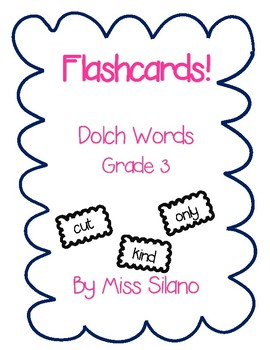 Dolch Grade 3 Flashcards