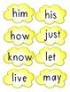 Dolch Grade One Popcorn Words