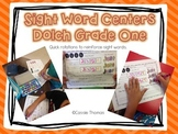 Dolch Grade One Sight Word Centers