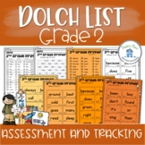 Sight Word Assessment and Tracking Grade Two