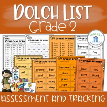 Grade Two Sight Word -  Assessment and Tracking