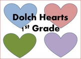 Dolch Hearts 1st Grade