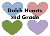 Dolch Hearts 2nd Grade