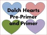 Dolch Hearts Pre-Primer and Primer