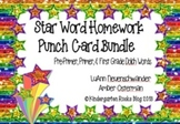 Dolch High Frequency/Sight Word Bundle - Pre-Primer, Prime
