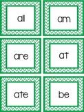 Dolch Kindergarten Flashcards