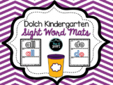 Dolch Kindergarten Sight Word Play Dough Mats