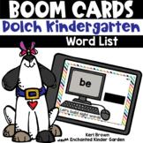 Dolch Kindergarten Word List - Boom Cards