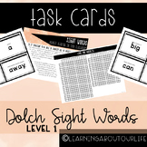 Dolch Level 1 Sight Words