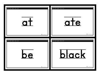 Dolch Level 2 Sight Words