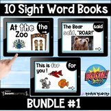 Dolch List Bundle #1 Boom Sight Word Books Distance Learning