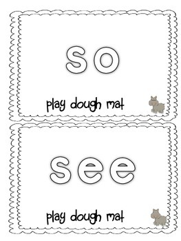 Dolch Sight Words List 3 Jungle Theme