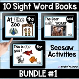Dolch List Bundle #1 Seesaw Sight Word Books Distance Learning