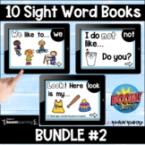 Dolch List Bundle #2 Boom Sight Word Books Distance Learning
