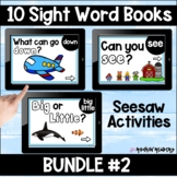 Dolch List Bundle #2 Seesaw Sight Word Books Distance Learning