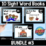 Dolch List Bundle #3 Boom Sight Word Books Distance Learning