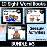 Dolch List Bundle #3 Seesaw Sight Word Books Distance Learning