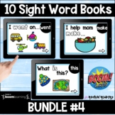 Dolch List Bundle #4 Boom Sight Word Books Distance Learning