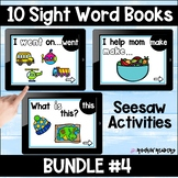 Dolch List Bundle #4 Seesaw Sight Word Books Distance Learning
