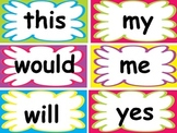 Dolch List Sight Word Cards
