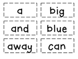 Dolch List Sight Word Flash Cards