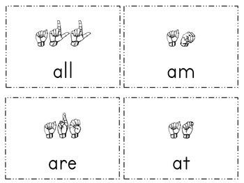 Dolch List Sight Word Practice-Primer List