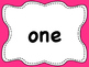 Dolch List Sight Words / High Frequency Words: Clear - M to Y