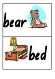 Dolch Noun Flash Cards
