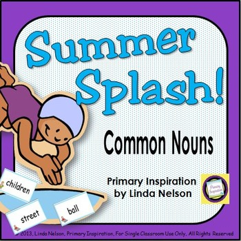 Summer Game for High Frequency Nouns ~ Summer Splash!