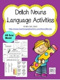 Sight Word Nouns: Language Activities