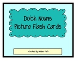 Dolch Nouns Picture Flash Cards