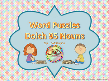 Sight Words - Literacy Centers - Games - Puzzles