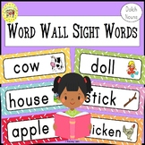 Dolch Nouns Sight Words Word Wall Cards