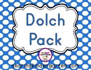 Dolch Pack {220 Sight Words}