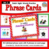 Dolch Sight Words Practice Phrase Cards-Set 2