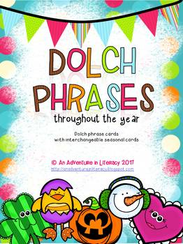 Dolch Phrases Fluency Game