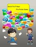 Dolch Pre-Primer File Folder Sight Word Game