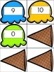 Dolch Pre-Primer Ice-Cream Sight Word Activity and Worksheet