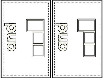 Dolch Pre-Primer Letter Boxes