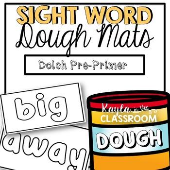 Dolch Pre-Primer Dough Mats